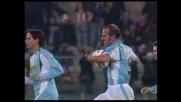 Di Canio su rigore firma il goal del 2-2 tra Lazio e Lecce