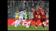 Totti detta i tempi della Roma nel derby con immensa classe