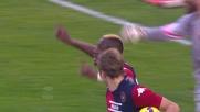 Il Cagliari accorcia sulla ROma con il goal di M'Poku