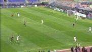 Pinilla conquista un calcio di rigore contro la Roma