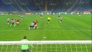 Borriello chiude i conti con l'Udinese realizzando con un sinistro potente il goal del 2 a 0 contro l'Udinese