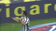 Al Friuli Di Natale ribadisce in goal con decisione contro il Lecce