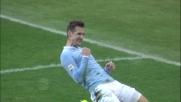 Secondo goal di Klose contro il Livorno