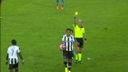 Fallo di frustrazione per Marquinho: cartellino giallo