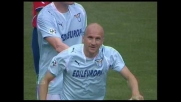 Rocchi in contropiede segna il goal che sblocca Lazio-Napoli