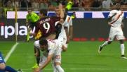 Destro con un colpo di testa realizza il goal dell'ex e regala la vittoria al Milan
