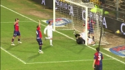 Roma vicino al goal con Vucinic di testa: la parata di Rubinho e la traversa salvano il Genoa