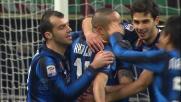 Un goal fortunoso di Ranocchia piega il Cagliari al Meazza