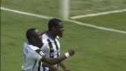 Zapata porta in vantaggio l'Udinese a Bergamo con un gran colpo di testa
