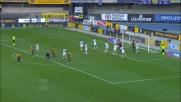 Marquez di tacco non centra la porta del Cagliari