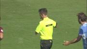 Dias fa ostruzione su Totti e viene allontanato dal campo
