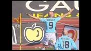 Il goal di Di Canio porta in vantaggio la Lazio contro la Reggina