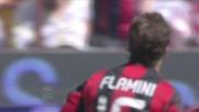 La caparbietà di Flamini viene ripagata con un goal vittoria al Meazza