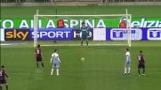 Dagli 11 metri Perotti realizza il goal vittoria del Genoa in casa della Lazio