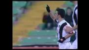 Dagli undici metri Di Natale segna il goal del pari col Treviso