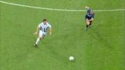 D'Agostino batte Julio Cesar realizzando il goal del vantaggio del Siena a San Siro