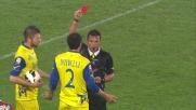 Dainelli viene espulso per un fallo su Balotelli