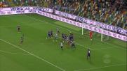 Danilo riporta avanti l'Udinese contro la Fiorentina