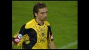 De Sanctis evita un autogoal per l'Udinese