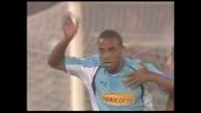 De Sousa segna il goal del raddoppio della Lazio sul Messina