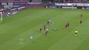 De Vrij in tackle pulito sul pallone in Napoli-Lazio