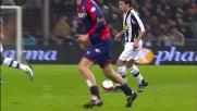Del Piero nasconde il pallone e disorienta Sculli in Genoa-Juventus