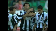 Del Piero segna al Bari e la Juventus dilaga