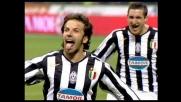 Del Piero segna il goal vittoria contro l'Inter con una punizione strepitosa