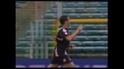 Delizioso pallonetto di Di Michele e Palermo in vantaggio sulla Lazio