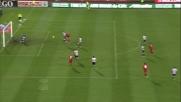 Dessena segna il goal della bandiera per il Cagliari contro l' Udinese