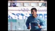 Destro a giro in porta, Stankovic la mette fuori di poco contro il Perugia