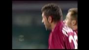 Destro da fuori di Passoni, fantastico goal del pareggio del Livorno