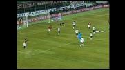 Destro perfetto di Kakà che segna il goal del 3-1 del Milan sul Parma