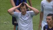 Destro secco di Kozak, la traversa grazia l'Inter!