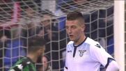 Milinkovic-Savic non finalizza: Lazio sprecona a Reggio Emilia
