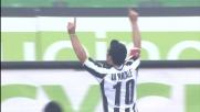 Di Natale non sbaglia il rigore: è il goal del 2-0 tra Udinese e Palermo