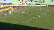 Di Natale realizza il goal che porta in vantaggio l'Udinese sul Cesena