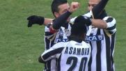 Di Natale segna il goal del 2-0 al Chievo con un bel tiro ad effetto