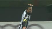 Di Natale segna il goal del vantaggio dell'Udinese contro il Milan