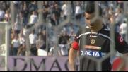 Di Natale trasforma il rigore del definitivo 4-1 sul Siena