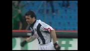 Di Natale va in goal nella sfida contro l'Ascoli