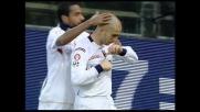 Di Vaio agguanta il Genoa sull'1-1 con un goal di testa