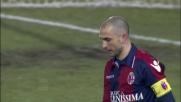 Di Vaio prende la mira, ma il suo diagonale finisce fuori contro l'Udinese