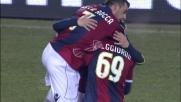 Di Vaio segna il goal del vantaggio al Friuli contro l'Udinese