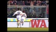 Di Vaio segna un goal con deviazione, il Genoa pareggia a Livorno