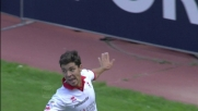 Diagonale e goal di Rivas contro il Brescia