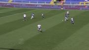 Diakite ferma l'azione della Lazio e riparte in contropiede