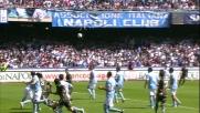 Dias segna il goal del raddoppio per la Lazio a Napoli