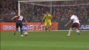 Diego Capel contro la Roma ha un'occasione d'oro ma Szczesny gli nega il goal