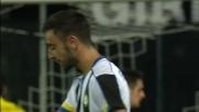Diego Lopez neutralizza il tiro di Bruno Fernandes al Friuli